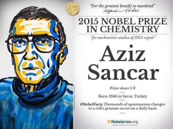 Aziz sancar nobel